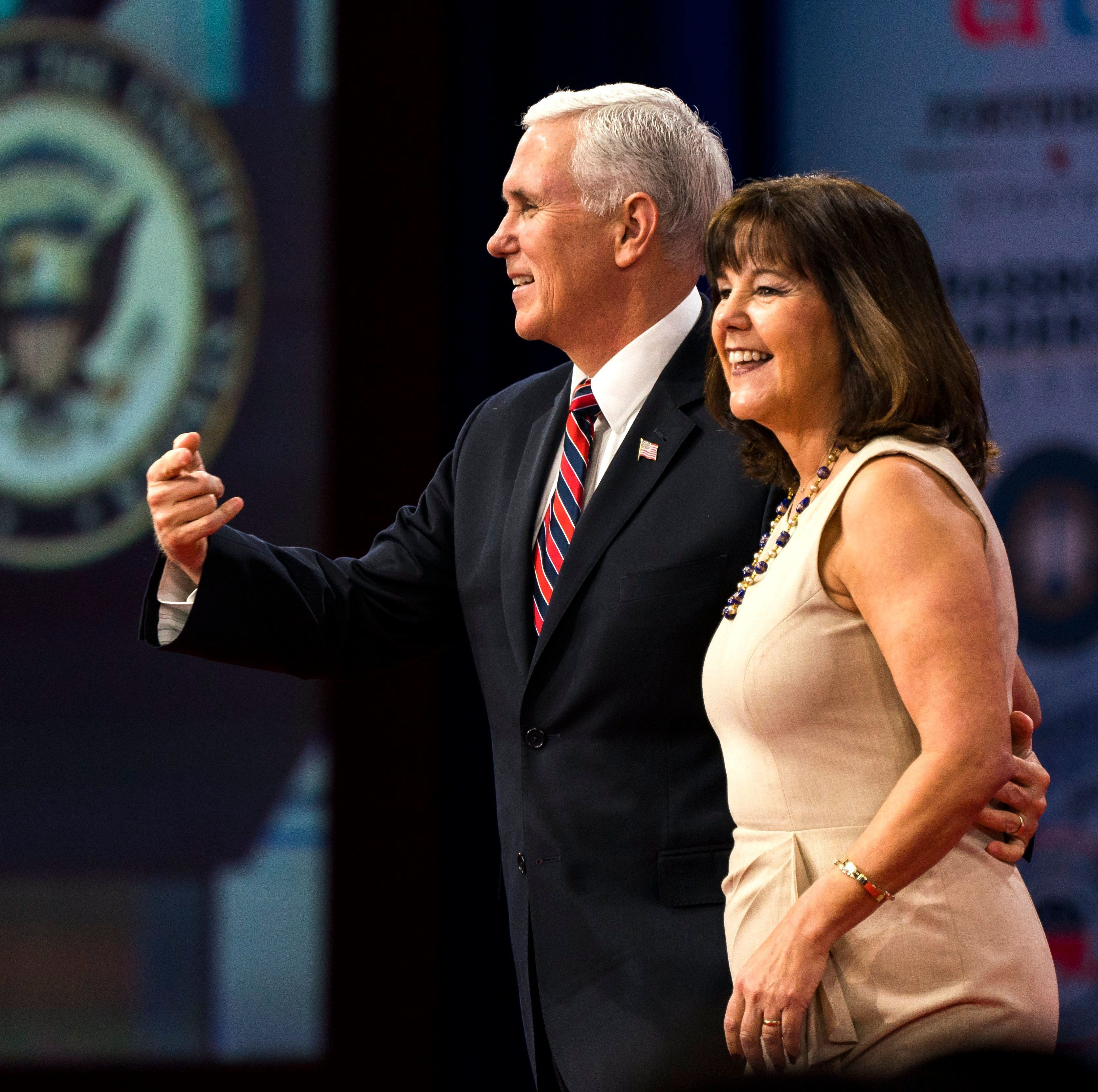 Karen Pence takes job at school that bans gay students, employees