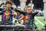 Emotion drives the performances at Drum Corps International World Championship Prelims at Lucas Oil Stadium in Indianapolis.