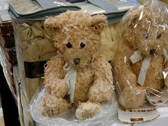 You can smell a cinnamon-scented teddy bear candle at the 2018 Indiana State Fair.