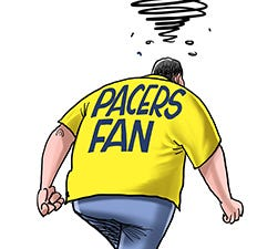 Cartoonist Gary Varvel: Pacers fans react to NBA TV snub