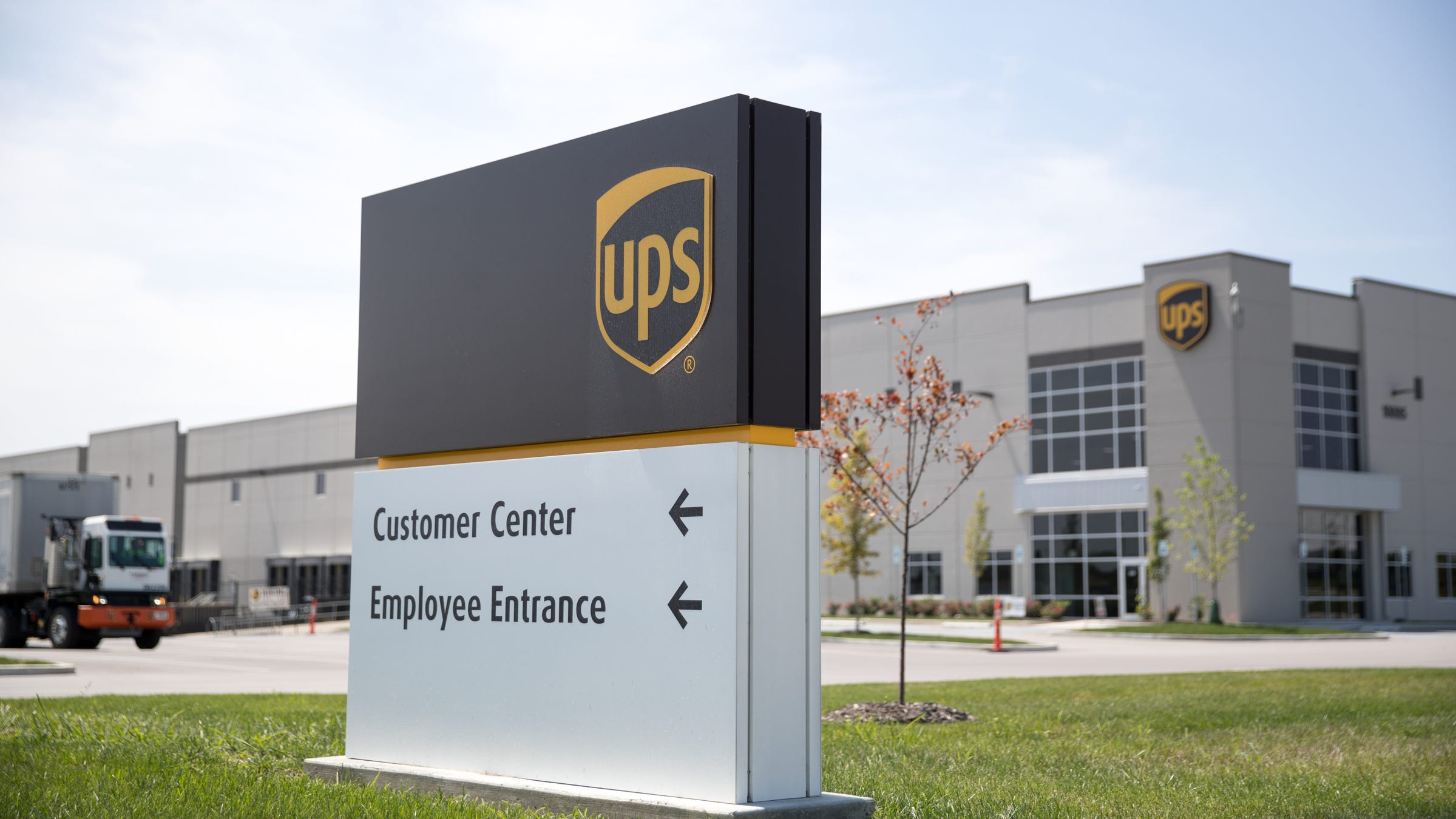 The UPS hub in Plainfield, the site of a recent walkout by employees over comments made by a manager, who has since been fired. Thursday, Aug. 9, 2018.