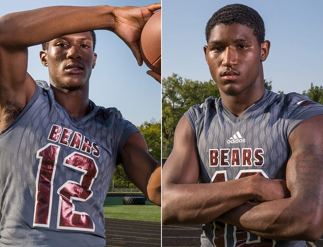 Donivan Wright (left) and Trevon Booker (right) will lead the way for Lawrence Central.