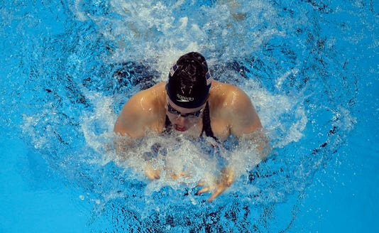 Olympics Swimming Evening Session
