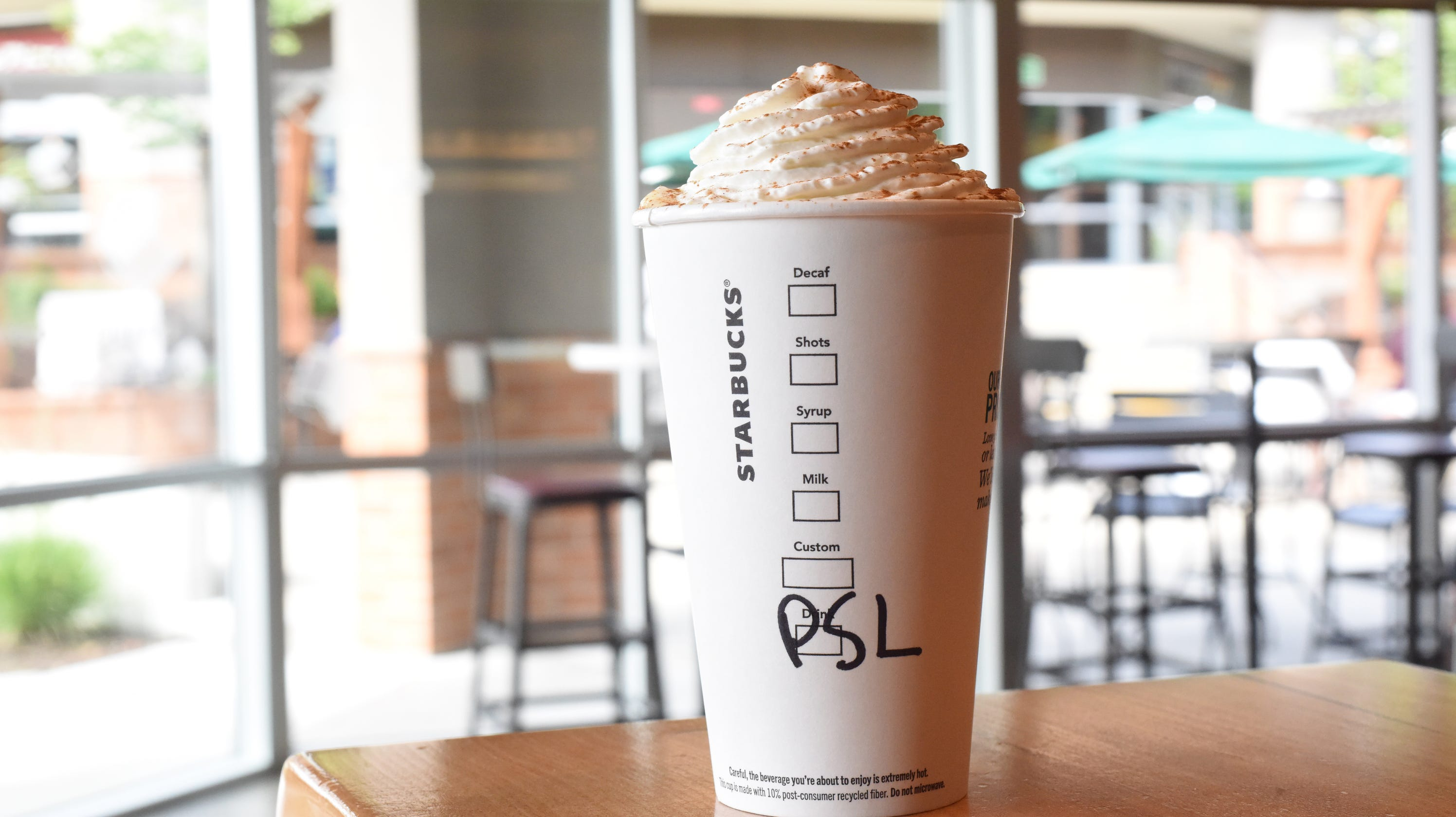 Skinny Pumpkin Spice Latte How To Order Or Make One