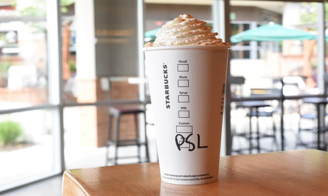 The pumpkin spice latte from Starbucks