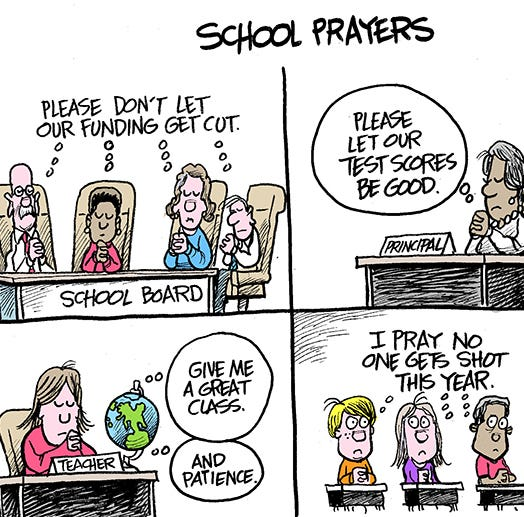 Marshall Ramsey: School Prayers