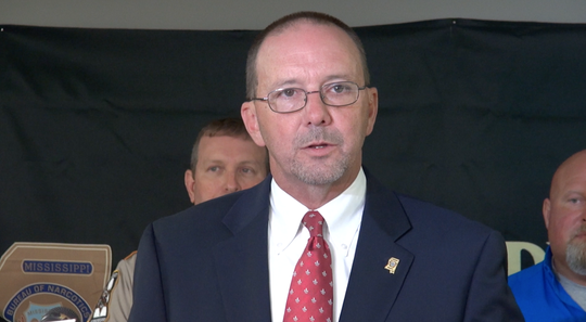 Mississippi Bureau of Narcotics Director John Dowdy talks about a recent multi-agency investigation that uncovered several businesses selling spice in vape liquid.