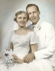 Shirley and Ron Bugos wedding photo