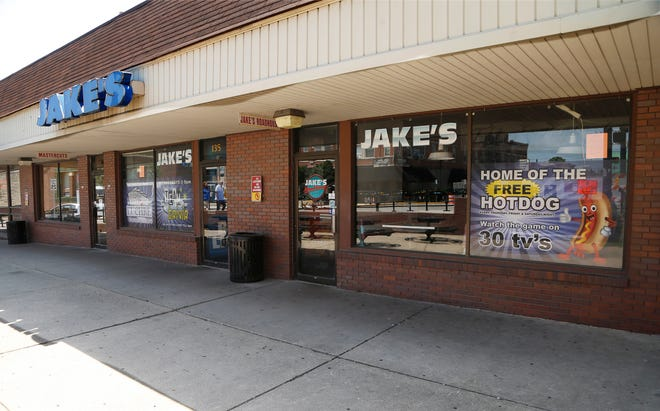 Jake's Roadhouse in the Chauncey Hill Mall Thursday, August 9, 2018, in West Lafayette. Jake's Roadhouse announced Wednesday evening that it had closed its doors for good after business hours last Saturday.