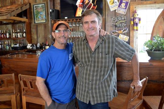 David Allemond (left) and brother Mark Allemond (right)