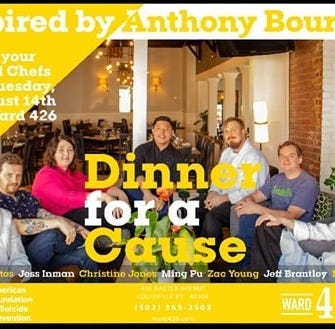 8 local chefs hope to prevent future suicides through a benefit dinner