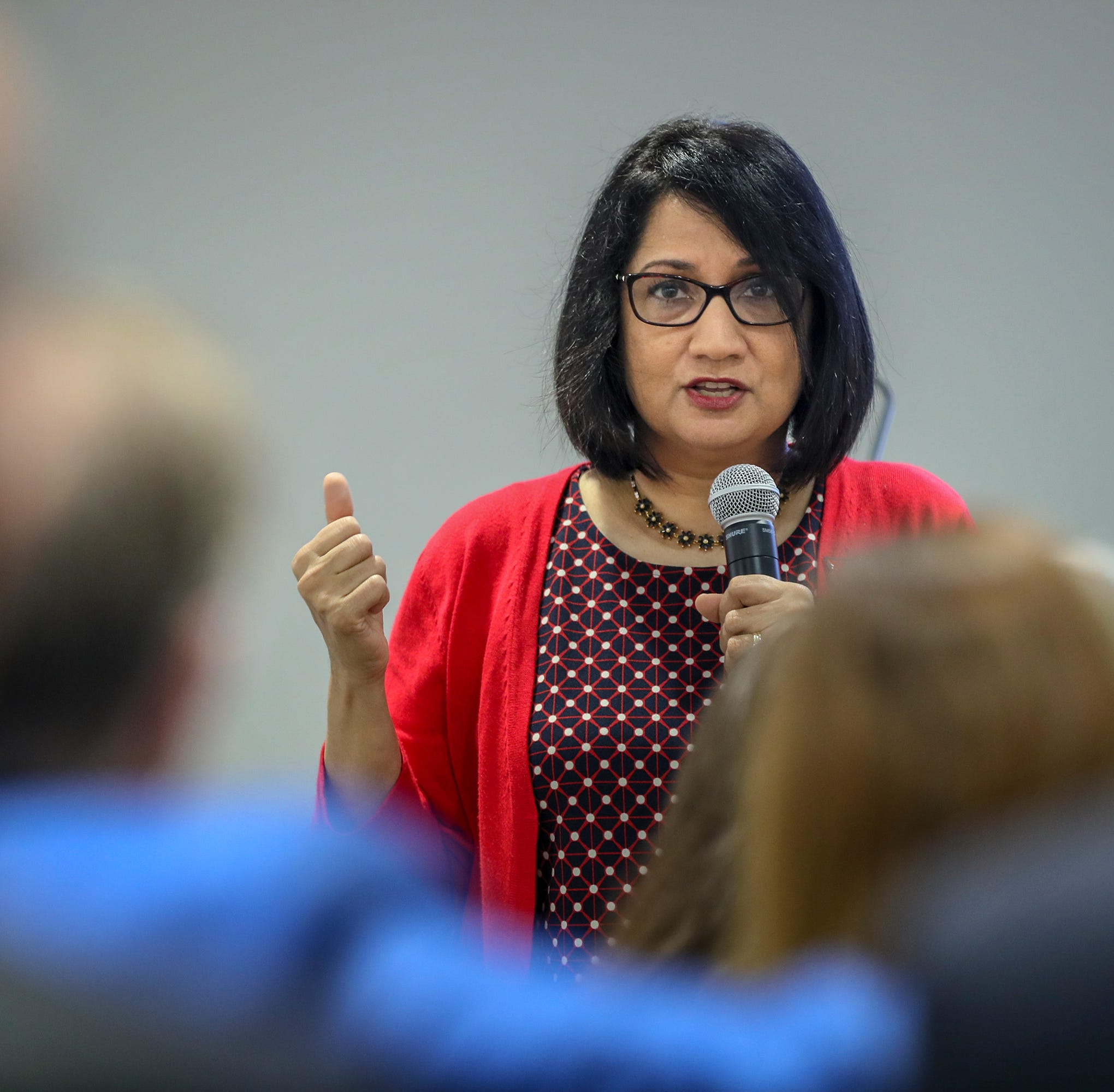 University of Louisville President Neeli Bendapudi plans to donate raise back to school
