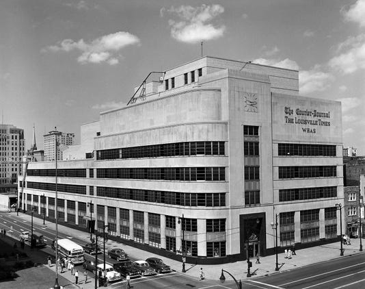 Title Cj T Building 1952 Exterior
