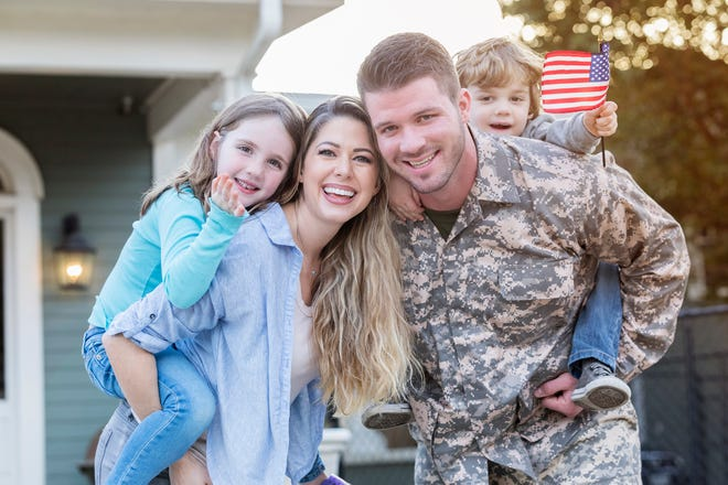 For veteran and military families, a VA mortgage can provide many benefits, including no down payment, low interest rates, and no private mortgage insurance.