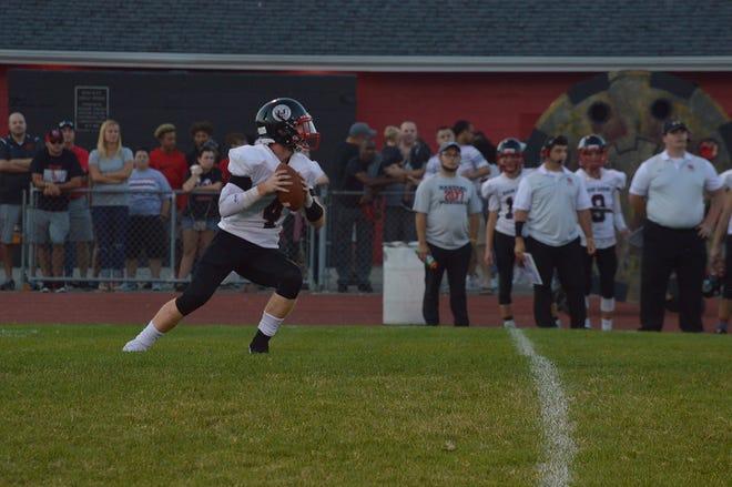 Marion Harding quarterback Noah Thompson is back for his senior year.