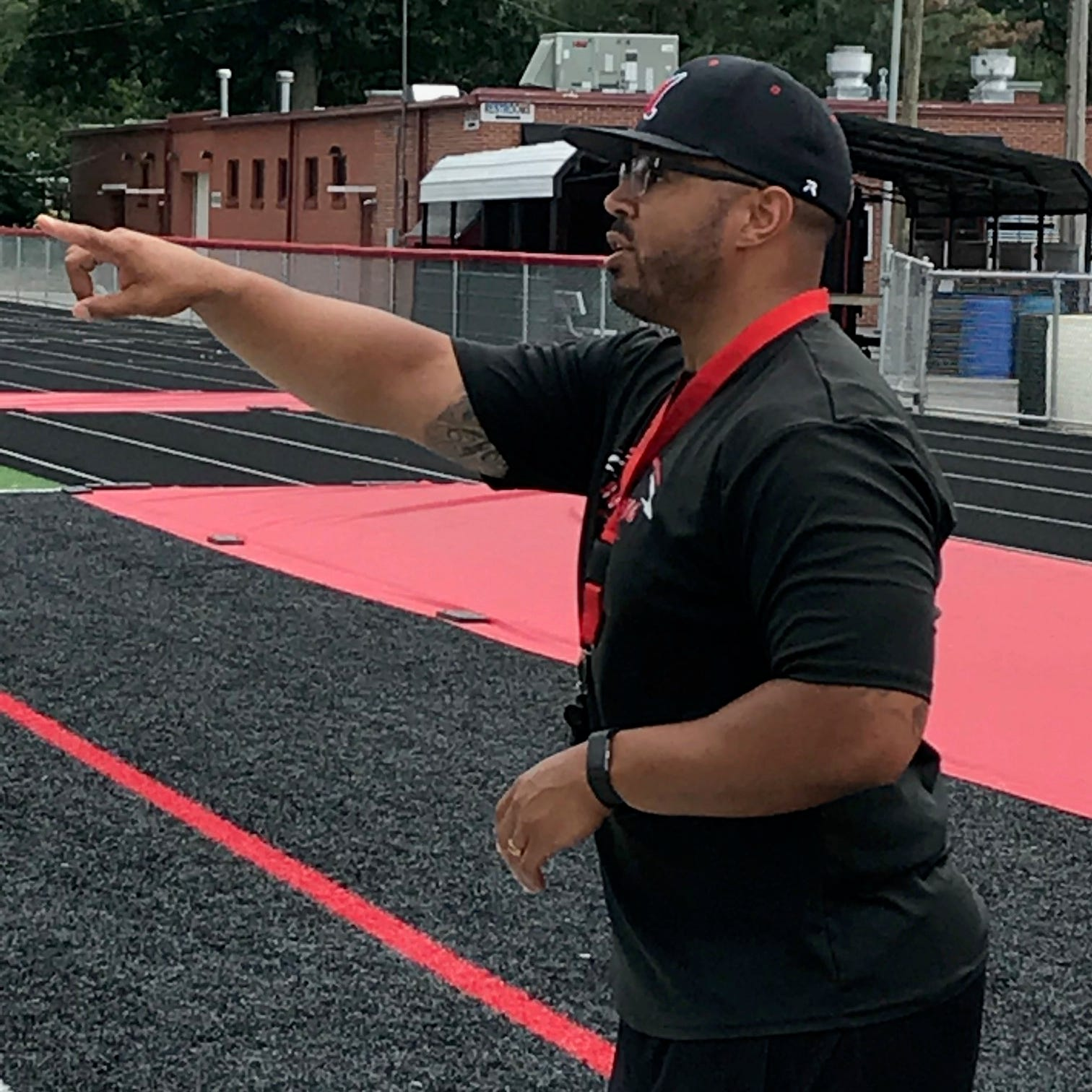 Harding homecoming: Former player Jerrod Slater now head football coach