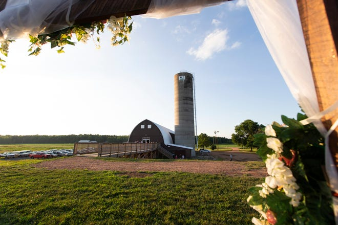 John and Melissa Eron of Stevens Point started hosting events in their seldom-used barn in 2015, and have since renovated the barn with new floors, air conditioning, and other safety measures.