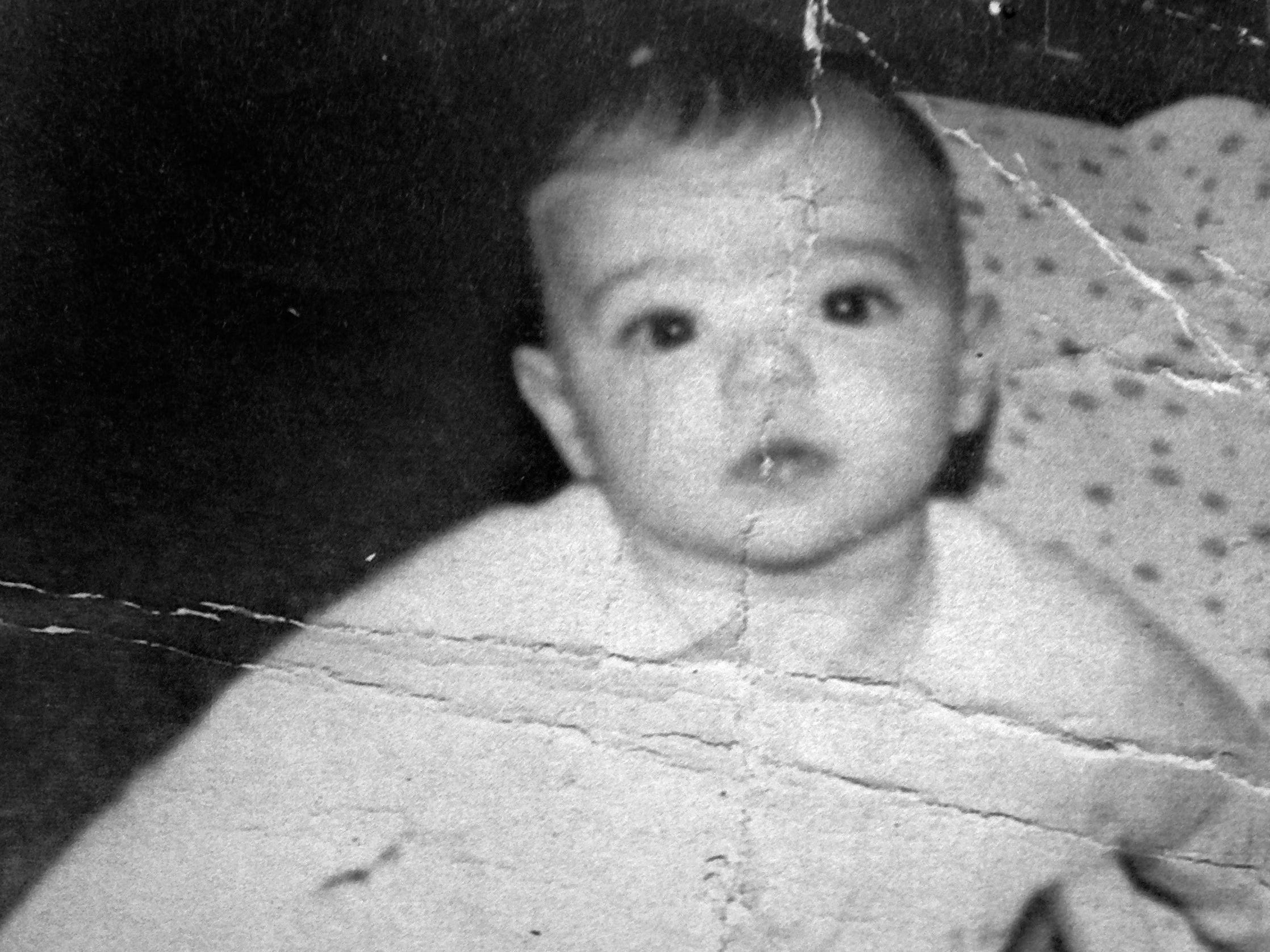 Mary Jane Millehan was just a few months old when this photo was taken in 1964. It's included in a book of snapshots she sent to Tom Peters, who in 2015 was determined to be her biological father.