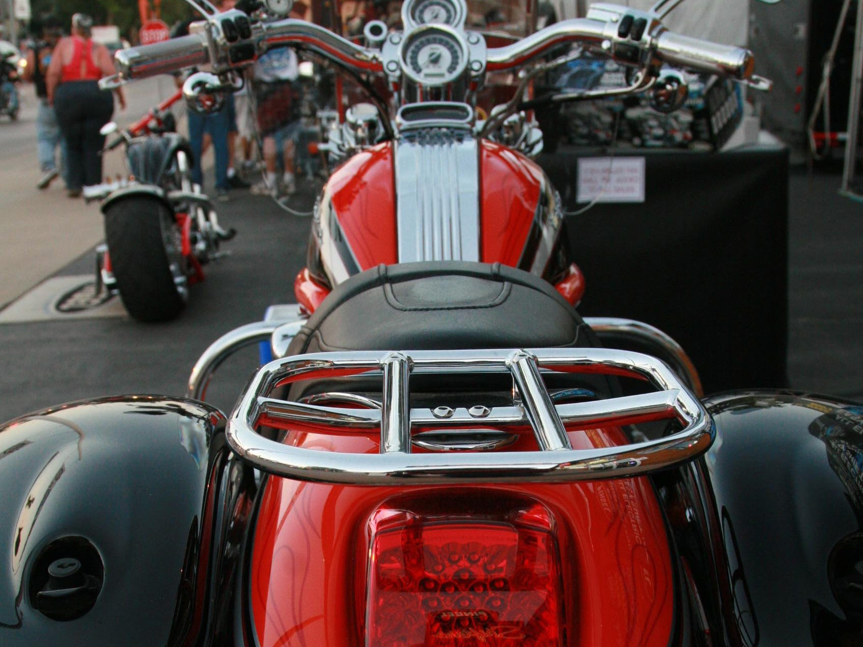 2012: A large number of riders from Wisconsin, home of Harley-Davidson, make the annual trip to Sturgis.
