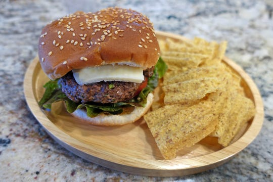 Elk burgers are a lean option for a healthy diet.