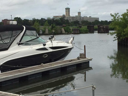 Progress in cleaning up the Kinnickinnic River has made it more welcoming to pleasure boats, and is encouraging new developments.