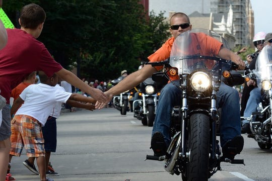 The parade kicks off at 45th Street and Wisconsin Ave, continues east through downtown Milwaukee and lands at Harley-Davidson 115th and HOG 35th Moto-Carnival at Veterans Park. Sunday, September 2 at 1 p.m.