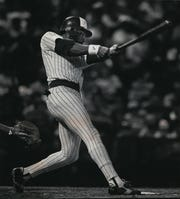 Cecil Cooper participated in three back-to-back-to-back home run sequences for the Brewers -- all in 1982.