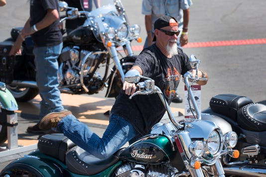 23453abaa Harley-Davidson, Indian keep their rivalry alive at Sturgis rally