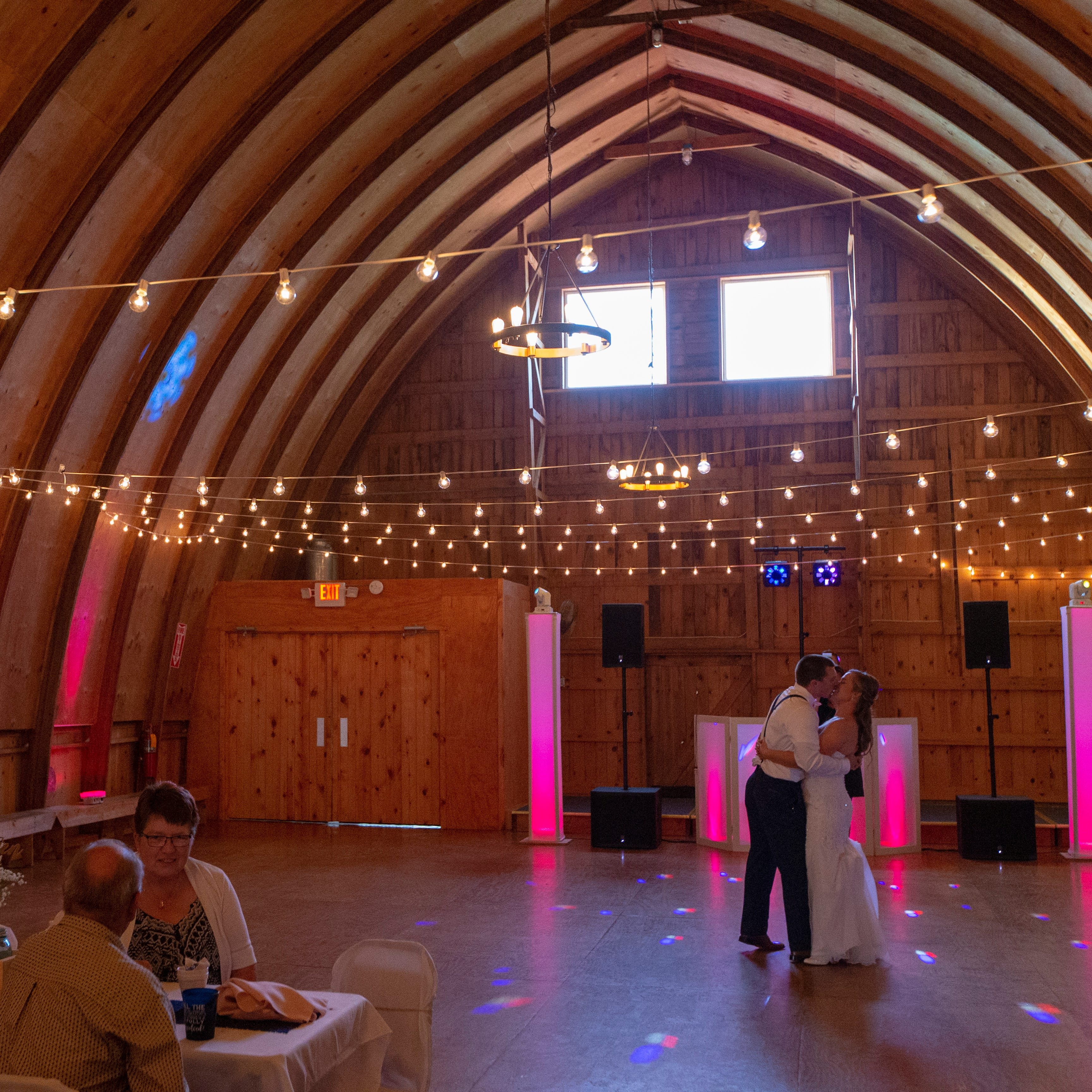 Wisconsin's old dairy barns are becoming the state's trendiest wedding venues