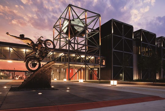 The Harley-Davidson Museum is offering $4.14 admission and cheeseburgers at its Motor restaurant for $4.14 on Milwaukee Day.