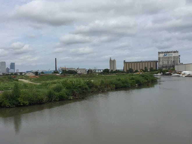 The former Solvay Coke site is among the parcels on Milwaukee's Kinnickinnic River that are drawing development interest — including a possible corporate headquarters relocation.