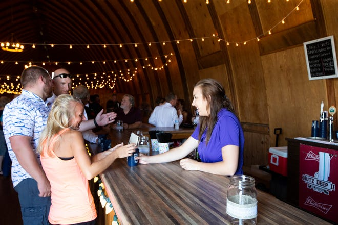 Eron's Event Barn has events booked up to 2020.