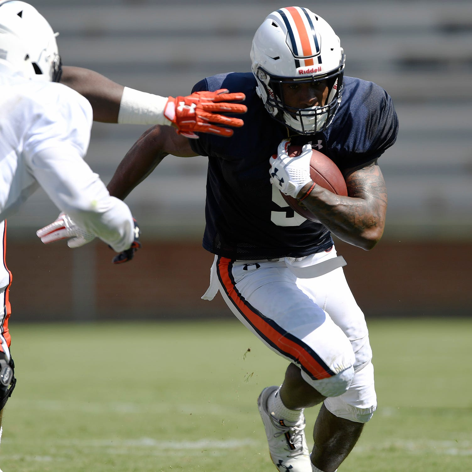 Will Kam Martin remain that back for Auburn all 2018?