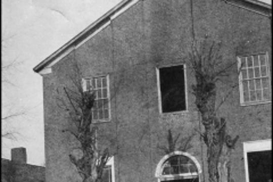 Shorter Chapel AME Church's original location was in downtown Franklin and used as a hospital during the Civil War.