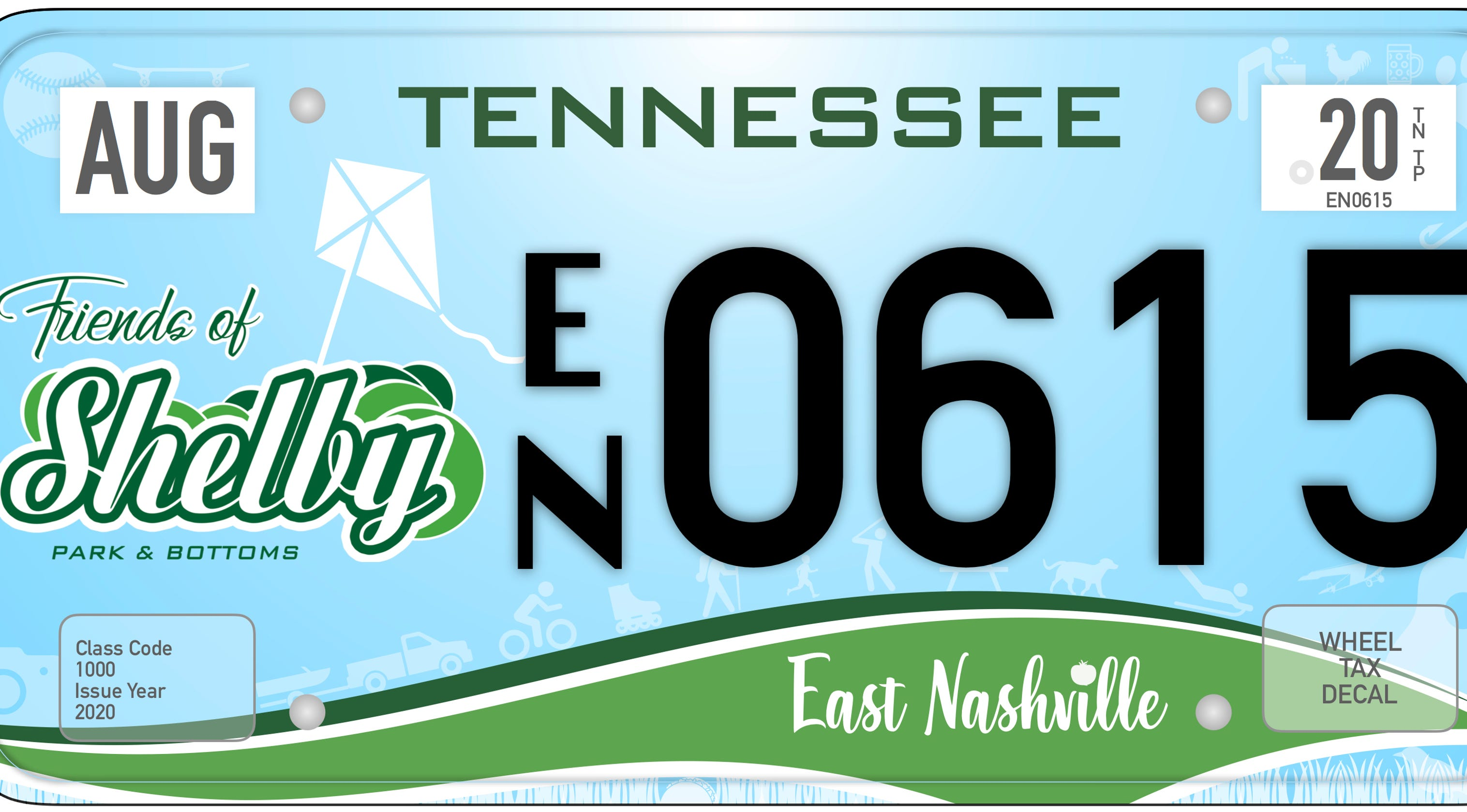 East Nashville license plate: Effort is underway for specialty tags