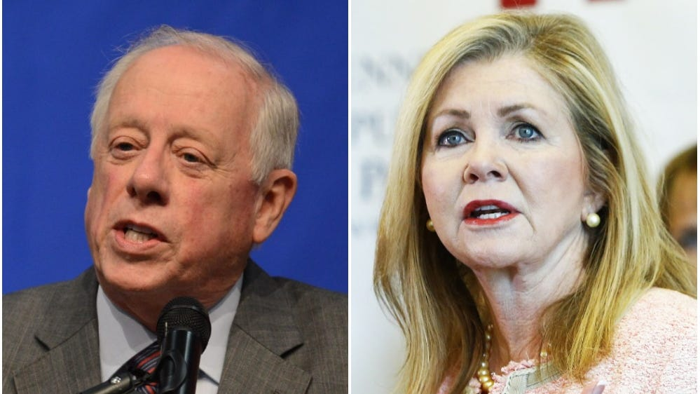 Democrat Phil Bredesen, left, and Republican Marsha Blackburn, will face off in the U.S. Senate race Nov. 6.