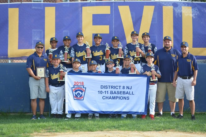 The Belleville Little League 11U All-Star team won the District 8 title this summer.