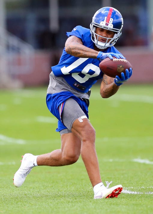 Nfl New York Giants Training Camp