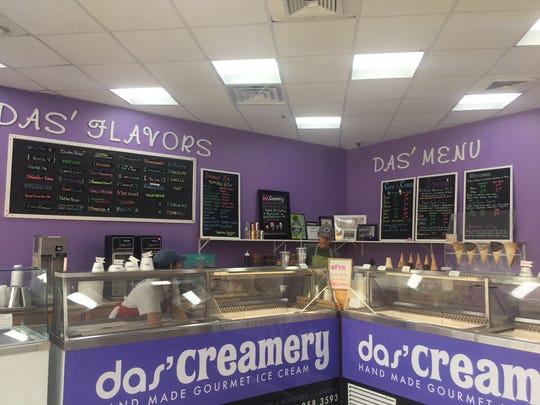 Komal and Pankaj Das opened Das' Creamery in 2014. Their shop features rotating flavors including a series of Pop-Tart flavored varieties