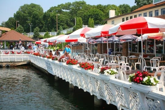 The Jefferson House is one of the dining options along  Lake Hopatcong.