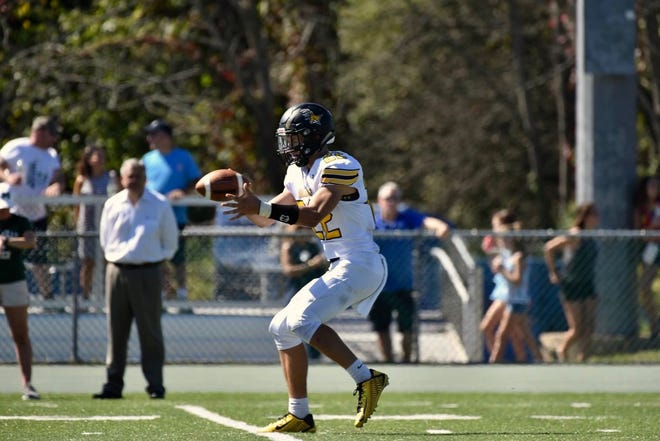 West Milford senior football standout Zack Milko is a three-year starter at quarterback for the Highlanders.