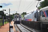NJ Transit commuters discuss issues they experience while commuting on Thursday August 09, 2018.