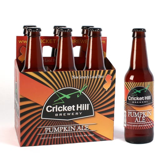 Cricket Hill's Pumpkin Ale