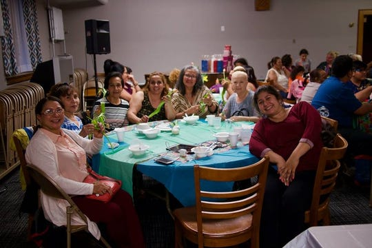 Participants in New Hope's Mother's Day event