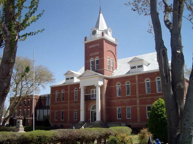 The historic Luna County Courthouse is located at 700 S. Silver Street in Deming, NM.