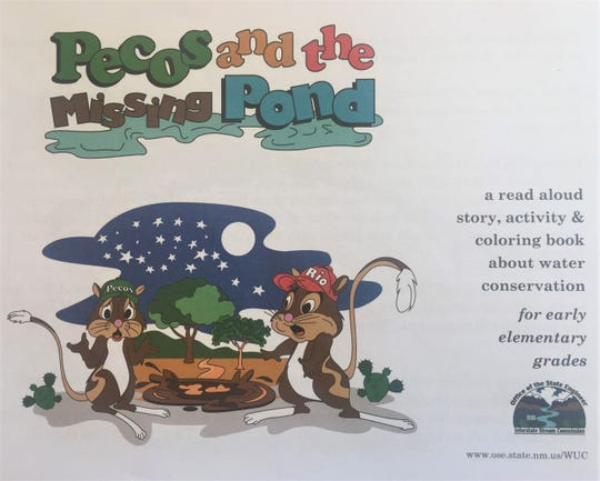 """Pecos and the Missing Pond"" is a free, read aloud book for New Mexico residents."