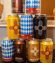 A selection of New Mexico beer at a previous Las Cruces Summer Beer Festival.