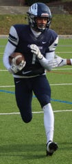Fleet-footed senior wide receiver and Colgate commit Kobi Russell is expected to play a big role in Cranbrook Kingswood's offense this fall.
