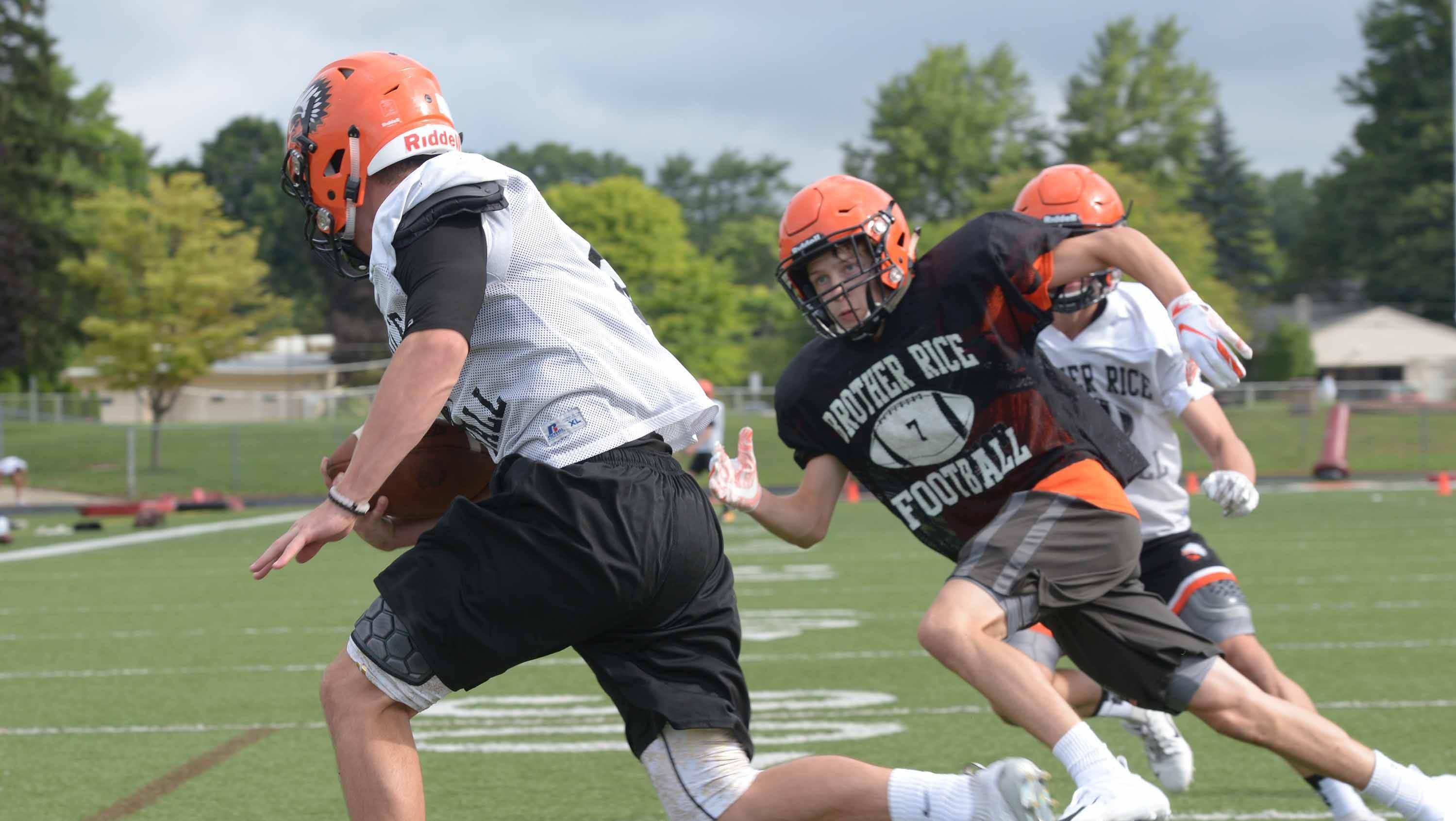 Confident Korzeniewski begins second year at Brother Rice