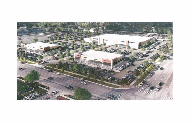 The old Kmart site in Plymouth Township could look like this, according to a rendering from Grand Sakwa Properties.